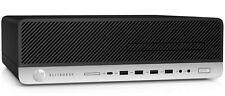 HP Elitedesk 800-G3 Business PC SFF Intel core i7 3.40GHz 8GB 500GB