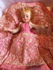 "Vintage Nancy Ann Style Show Doll Sophistication #2404 Rare 17"" Hard Plastic 18"""