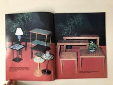 Marshall Studios Pottery Lamp & Furniture Catalog 1980s