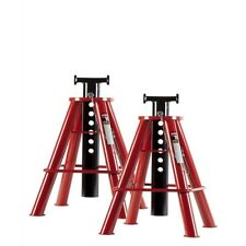 10 Ton Medium Height Pin Type Jack Stands Pair Sun1310 Brand New