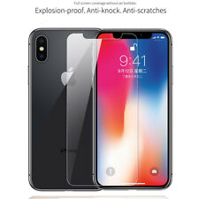 3D Front+Back Rear Clear Temper Glass Film for iPhone XS Max XR Screen Protector