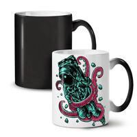 Space Octupus Fashion NEW Colour Changing Tea Coffee Mug 11 oz | Wellcoda
