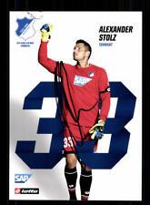 Alexander Stolz Autogrammkarte TSG Hoffenheim 2017-18 Original Sign+A 170919