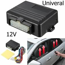 Universal Auto Power Window Roll Up Closer Power Module Kits For 4 Door Cars 12V