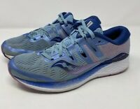 Saucony Ride ISO Running Shoes Navy Blue Purple S10444-1 B-101 Women's Size 9.5