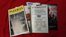 RARE Bonnie & Clyde Playbill Jeremy Jordan Laura Osnes 2011 Broadway Musical