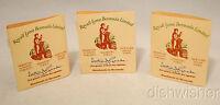 NEW 3 Sample Vials Royall SPYCE  All Purpose Lotion Cologne Vintage RARE HTF
