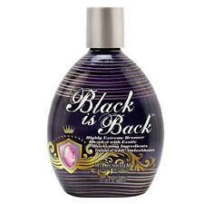 Black Is Back Extreme Bronzer Indoor Tanning Bed Lotion By Millennium Tan