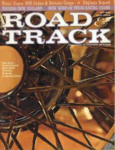 Road & Track 1963 May simca mercedes excalibur daytona