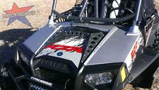American Rock Rods GUNMETAL Powdercoat Hood panel kit for 2011 + Polaris RZR