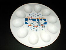 Taiwan R.O.C Duck/Goose/Geese Deviled Egg Plate - Easter Tray