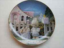 God Loveth a Cheerful Giver from Precious Moments Classics Plate Collection