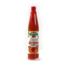 Gray's Authentic Jamaican Hot Pepper Sauce 3 oz X 6 bottles