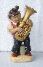 SONNEBERGER FRIEDEL – FIGUR : Musiker mit Tuba