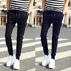 Slim Fit Skinny Sweatpants Men Hip Hop Casual Popular Street Pencil Pants lot HJ