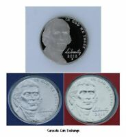 2019 S,P,D Jefferson Nickels S Proof and P,D BU all 3 IN STOCK