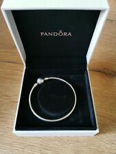 Pandora Silber Armreif mit Kugelverschluss
