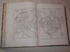 DUSSIEUX (L.) ATLAS DE GEOGRAPHIE PHYSIQUE ET MODERNE (1854) INCOMPLET !!!