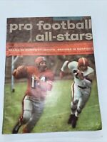 Maco PRO FOOTBALL ALL-STARS 1957 Classic Vintage Magazine Y.A.Tittle 49ers Cover