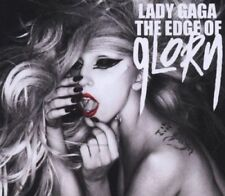 LADY GAGA THE EDGE OF GLORY LTD UK 2-TRACK CD SINGLE