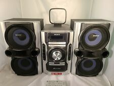 Sony Hcd-Ec77 Am Fm 3 Cd Stereo Compact System with Remote Tested