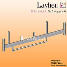 Layher Fahrgerüst Rollgerüst  Fahrbalken m. Bügel 1,8m Gerüst Einzelteil Zubehör