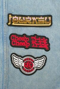Journey Reo Speedwagon Cheap Trick embroidered patch hard rock