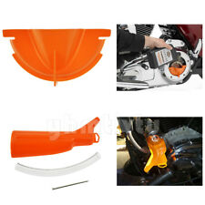 Primary Case Oil Fill +Drip-Free Oil Funnel For Harley Touring Dyna Softail