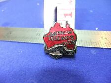 vtg badge australian trailways pty ltd centralian touring club transport 1940s ?