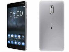 Nokia 6 32GB Plateado Desbloqueado Teléfono inteligente Reino Unido Vendedor Grado B