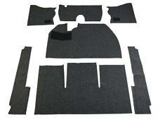 1956 1/2-1957 VW Bug Basic Carpet Kit 7pcs(w/o Footrest), Black