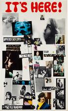 "Beatles White Album Promotional Poster Replica 11.5 x 19""  Photo Print"