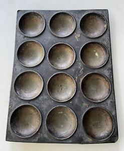 Vintage Cake Muffin Baking Tin Tray - Retro Kitchenalia