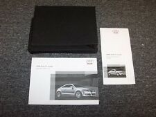 2008 Audi TT Coupe Owner Owner's Operator Manual Set 2.2 3.2 Quattro 2.0L 3.2L
