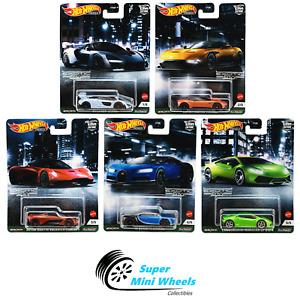 Hot Wheels Premium 2021 Car Culture D Case - Exotic Envy - 5 Car Set [In-Stock]