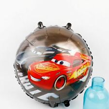 Ballon alu rond cars Flash mcqueen