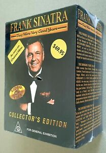 BRAND NEW SEALED Frank Sinatra - They Were Very Good Years - 5 VHS Tape Box Set