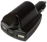Multiprise pour allume-cigare 12V 6.5A + 3x USB 5V 2.5A micro auto voiture