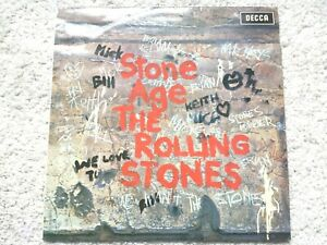 THE ROLLING STONES - STONE AGE (1971) - SKL 5084 - VINYL RECORD (TESTED EX+)