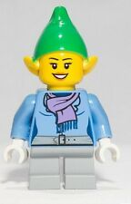 LEGO Female Elf Elve Minifigure from Limited Edition 40106 Santa's Workshop