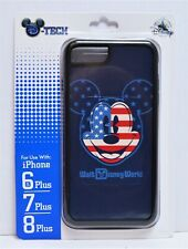 Disney WDW 4th July Patriotic Flag Mickey Apple Iphone 6S/7/8 Plus Case NEW CUTE
