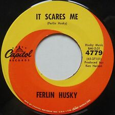 FERLIN HUSKY: It Scares Me CAPITOL country ROCKER 45 hear it