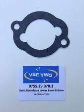 DUCATI, BEVEL, Round Case, Lower Bevel Gasket (0.3mm thick)