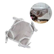 Double Layer Mesh Cloth Hamster Hammock Squirrel Rabbit Hanging Nest Bed Toy v