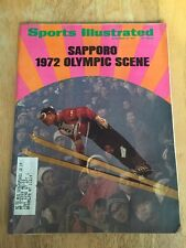 Vintage Sports Illustrated Sapporo 1972 Olympic Scene On Cover November 15 1971