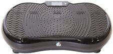 REBOXED Crazy Fit Vibration Massage Plate Bluetooth Speaker Touch Panel Black
