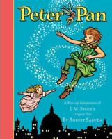 Peter Pan, Hardcover by Sabuda, Robert, Brand New, Free shipping in the US