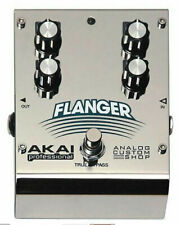 Akai Professional Analog Custom Shop Flanger Effect Pedal New in Box