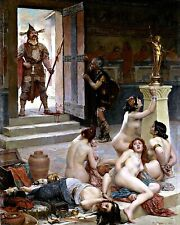 Spoils of the Battle by French Paul Jamin. Fine Art Repro choose Canvas or Paper