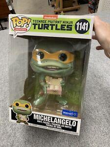 Funko Pop! Teenage Mutant Ninja Turtles Michelangelo 10 inch Walmart exclusive